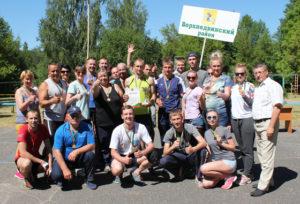 Верхнедвинская команда в третий раз стала победительницей областной спартакиады