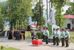В Верхнедвинске прошло мероприятие к 100-летию пограничной службы