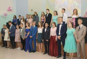 В Верхнедвинске прошли выпускные вечера