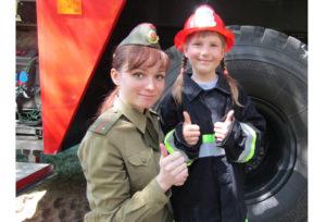 В Верхнедвинском парке проведён урок безопасности для детей
