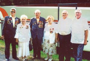 Верхнедвинские ветераны укрепляют связи с друзьями из Себежа