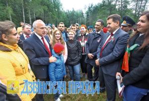Молодёжный лагерь «Бе-La-Русь» откроется во время встречи ветеранов на Кургане Дружбы