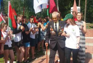 Верхнедвинцы приняли участие в международном молодёжном лагере «Бе-La-Русь»