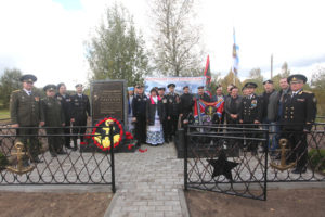 В Верхнедвинском районе установлен памятник герою-земляку