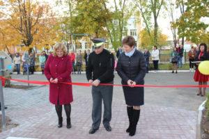 В Верхнедвинском детском саду № 4 открыта новая игровая площадка