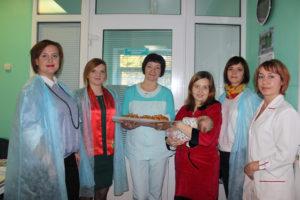 Верхнедвинских матерей поздравили с рождением детей