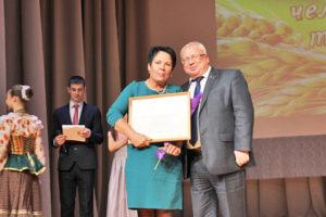 В Верхнедвинске наградили людей, внёсших свой вклад в подготовку и проведение «Дожинок-2018»