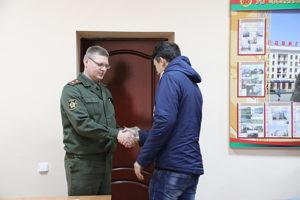 Верхнедвинские юноши пополнили ряды Вооруженных сил
