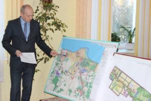 В Освее рассмотрен генеральный план развития посёлка