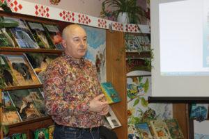 В Верхнедвинске прошла встреча с известным детским писателем