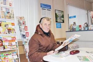 В. И. Ворошилов – подписчик  районки с 40-летним стажем.