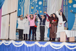 Верхнядзвінскія дзеці прынялі ўдзел у калядным конкурсе