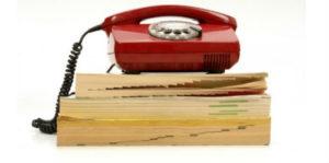 Почему не издаётся телефонный справочник?