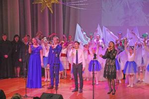 В Верхнедвинске прошёл Рождественский фестиваль