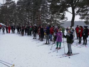 В Верхнедвинске прошли соревнования «Снежный снайпер»