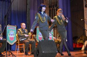 В Бигосово с культурно-пропагандистской акцией побывали полоцкие пограничники