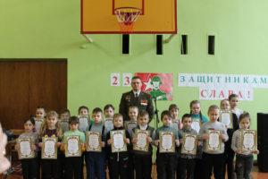 В Верхнедвинске прошёл конкурс «Армия глазами детей»
