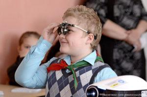 В Верхнедвинск «приехал» проект «Я вижу!»