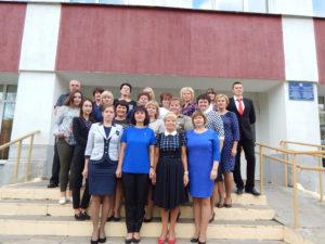 Среди лауреатов районной Доски почёта – коллектив Бигосовской СШ