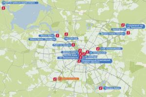 II Европейские игры. Городские информационные точки