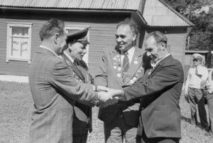 К 60-летию Кургана Дружбы вспомним историю встреч на границе стран-участниц партизанского движения