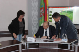 В Верхнедвинске приём граждан провёл помощник Президента – инспектор по Витебской области Виталий Вовк