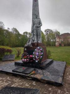 В Освее обновляются памятники воинской славы
