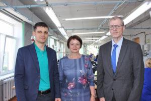 В Верхнедвинске побывал с рабочим визитом консул Латвии